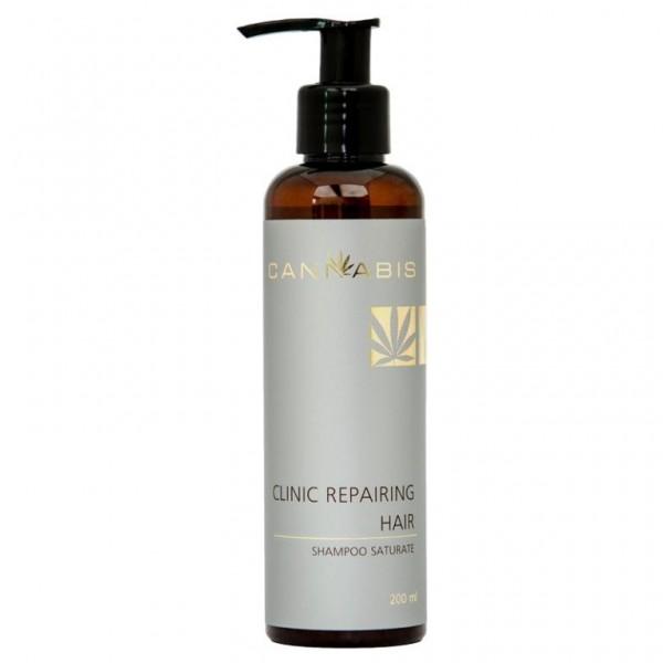 Шампунь-концентрат укрепляющий для всех типов волос CLINIC REPAIRING HAIR SHAMPOO Saturate 200 мл
